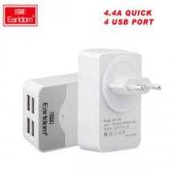 Недорогая зарядка Earldom 4 USB и 4.4A