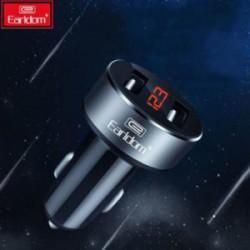 Автозарядка Earldom Dual USB - с дисплеем, за 3 бакса и так себе