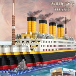 Нано лего с Алиэкспресс - собираем Титаник с айсбергом!