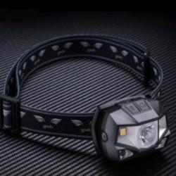 """Налобный фонарь Goofy DT-7607 - пластиковый """"трешачок"""" с бесконтактным управлением"""