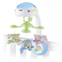 Детский ночник-музыкальная игрушка на кроватку Fisher-Price CDN41