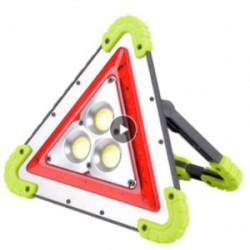 Резервный флудерный фонарь-павербанк для автомобиля