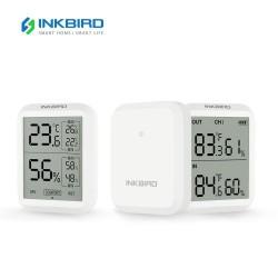Inkbird ITH-20R: цифровой термометр и гигрометр с выносными датчиками для внутренних и наружных измерений