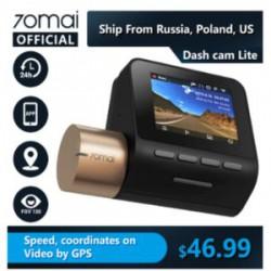 Обзор авто регистратора 70mai Dash Cam Lite 1080P