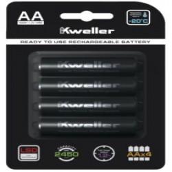 Обзор аккумуляторов Kweller AA 2450 (EXAA) - альтернатива дорогим Eneloop Pro