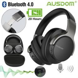 Ausdom ANC8: полноразмерные беспроводные наушники с активным шумоподавлением. Удобные, музыкальные, доступные